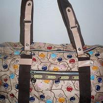 Lesportsac Tokidoki Whimsical Bird Weekender Duffle Bag  Photo