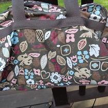 Lesportsac Travel Tot Handbag Birdsflowers and Hearts Photo