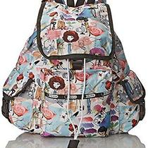 Lesportsac Voyager Backpack Art School One Size Photo