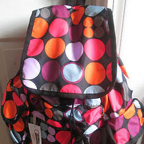Lesportsac Voyager Backpack in Dot O Fun Nwt's Photo