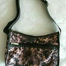 Lesportsac Women's Floral Multi-Color Colorful Crossbody Handbagpre-Owned Photo