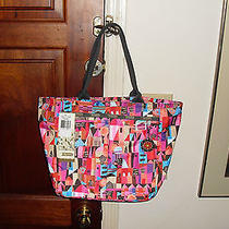 Lesportsac Wondrous Wonderous Journey Everygirl Tote Disney It's a Small World Photo