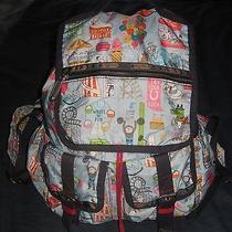 Lesportsac X-Large Double Pocket Kate Sutton Fairground Backpack Photo