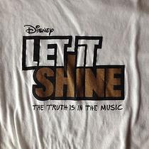 Let It Shine Disney Tv Show T-Shirt Tee Size Medium Rare Photo