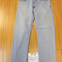 Levi 505 Regular Fit Grunge Jean Tag 38x32 Meas 37x32 Zip12615 Photo