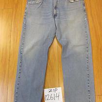 Levi 505 Regular Fit Grunge Jean Tag 40x30 Meas 40x29 Zip12614 Photo