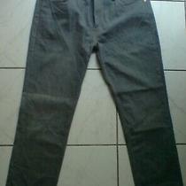 Levi 511 Dusty Blue Denim Jeans W38 L30 Photo