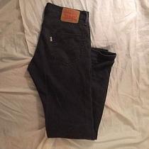 Levi 511 Graphite Gray Jeans Pants 30x32 Photo
