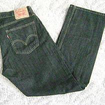 Levi 514 Slim Straight Black Jeans  36x30    Mint Photo