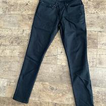 Levi Black Demi Curve Jeans Modern Skinny Mid Rise. W30 L32 Photo
