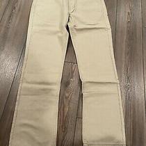 Levi Men's 514 Straight Leg Low Rise Regular Fit Jeans Khaki Tan Size W32 X L32 Photo