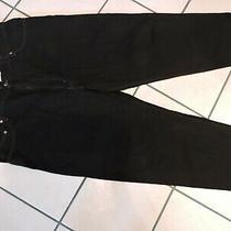 Levi Mens 550 Denim Jeans Black Size 44 X 30 Relaxed Fit 100% Cotton Nwot Photo