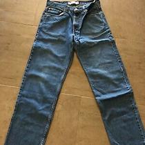 Levi Mens 550 Jeans 32 X 32 (Actual 31 & 1/2 X 33) 100% Cotton  Relaxed Fit Euc  Photo