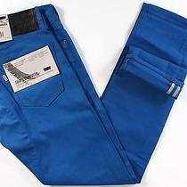 Levi's 504 Staight Fit Commuter Jeans 32 X34-New-Royal Blue-Levis Bike Pants-Nwt Photo