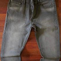 Levi's 504 Straight Leg Jeans Men Size 40 X 32 Sexy Distressed Gray Wash New Photo