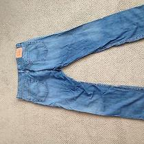 Levi's 505 Blue Jeans Size 36/30 Like New Photo