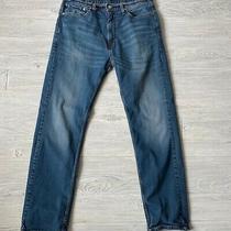 Levis 505 Straight Leg Bloom Jeans Mens Size 36 X 34 Photo