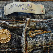 Levi's 505 Straight Leg Jeans - Size 4 Medium - W 27 - L 29 - My Oh My Levi's Photo
