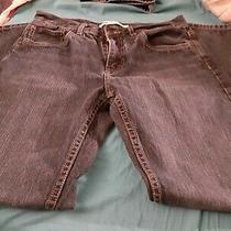 Levi's 505 Straight Leg Regular Fit Jeans Boys Size 18 Reg 29x29 Dark Wash Blue Photo