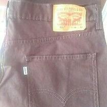 Levis 511 36 / 30 Slim Jeans - Dark Brown Photo