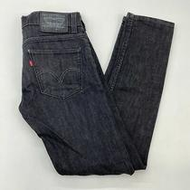 Levi's 511 Denim Jeans Men's W29xl30 Black 5-Pocket Slim Fit Cotton Blend Casual Photo