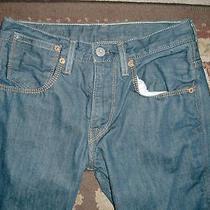 Levi's 511 Skinny Blue Jeans Men's Size Label 31 X 30 Taped 30 X 29 Photo