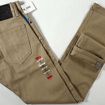 Levi's 511 Skinny Fit Commuter Jeans 28 X30-New-Khaki/tan-Levis Bike Pants-Nwt- Photo