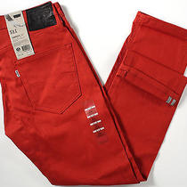 Levi's 511 Skinny Fit Commuter Jeans 30 X30-New-Burnt Henna-Levis Bike Pants-Nwt Photo