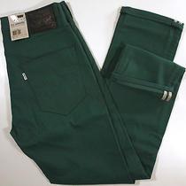 Levi's 511 Skinny Fit Commuter Jeans 32 X32-New-Dark Green-Levis Bike Pants-Nwt- Photo