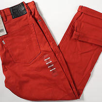 Levi's 511 Skinny Fit Commuter Jeans 38 X32-New-Burnt Henna-Levis Bike Pants-Nwt Photo