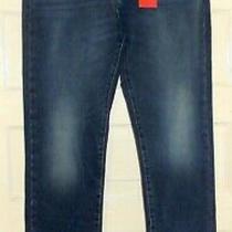 Levi's 511 Slim Fit Jeans Tagged Size 34 X 34 Dark Blue Nwt New Photo