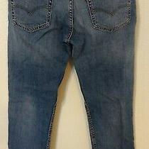 Levi's 511 Slim Fit Tapered Leg Blue Jeans Size 34 X 32 (M. 32 X 32) Photo