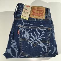 Levis 511 Slim Stretch Denim Jeans Regular Mens Size 30 X 32 Blue New Nwt Photo