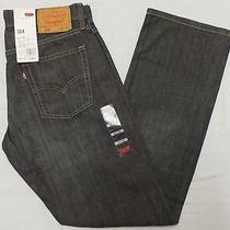 Levi's 514 Men's Straight Fit Jeans 30 X 32 Quartz Grey Style 005140312 Photo