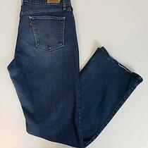 Levi's 515 Women's Jeans Size 10 Bootcut Blue Denim Jean Pants  Photo