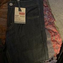 Levi's 527 Boot Cut Denim Jeans Youth Size 8 Regular W24 L22 New Photo