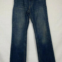 Levis 527 Boot Cut Girls Denim Blue Jeans Medium Wash Size 14 Slim W 25 & L 27 Photo
