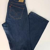 Levi's 529 Women's Jeans Size 12 Curvy Bootcut Blue Denim Jean Pants Photo