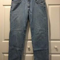 Levi's 550 Jeans Relaxed Fit Zip Fly Denim Red Tab Men's 38 X 34 Photo