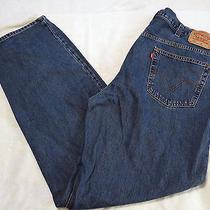 Levi's 550 - Men's  Relaxed Fit  Jeans - Sz 44 X 36 Euc Medium Wash 100% Cotton Photo