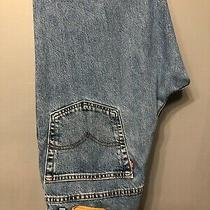 Levi's 550 Relaxed Fit Men's Jeans Blue Denim  Size 38 X 30 Photo