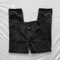 Levi's 550 Relaxed Fit Mens Jeans Black Size 29 X 32 Photo