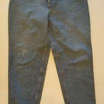 Levi's 550 Relaxed Fit Tapered Leg Womens Jeans Size 18 Photo