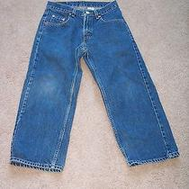 Levi's 569 Jeans Size 28x23 Loose Straight Boys Husky Levi Strauss Red Tag Photo