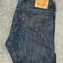 Levi's 569 Loose Straight Classic Pants Denim Jeans Mens W34 L31 Blue 502 Photo