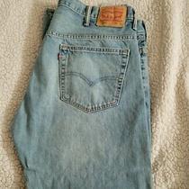 Levi's 569 Men's Jeans Size 38 X 30 Color Blue Straight Leg Regular Fit Denim Photo