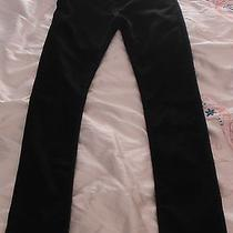 Levi's 595 Black Skinny Jeans Mens Unisex Size 30 W 32 L Like New Perfect Condt Photo