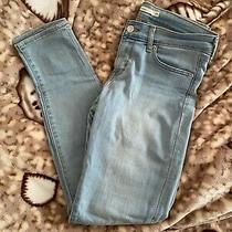 Levis 711 Skinny Jeans - Light Blue Great Condition Size 29 (8) Photo