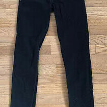 Levi's Black Bold Curve Low Rise Skinny Jeans Size 3 Photo