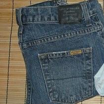 Levi's Boys Jeans Size 14 Regular Levi Signature 27 X 27 Dark Indigo Leg Photo